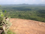Up the rock - Sigiriya