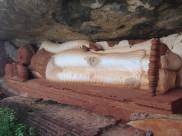 Sleeping Buddha - Sigiriya