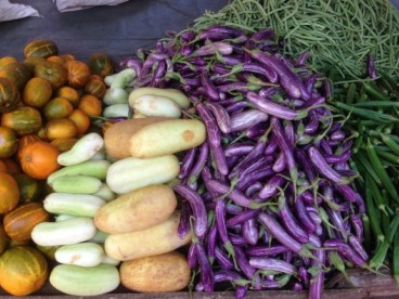 Vegetable market Anuradhapura