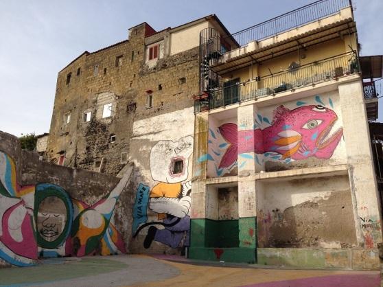 Ercolano Italy street art - Zamoa Productions