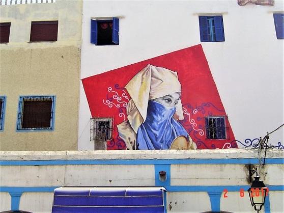 Maroc Larache street art - Zamoa Productions