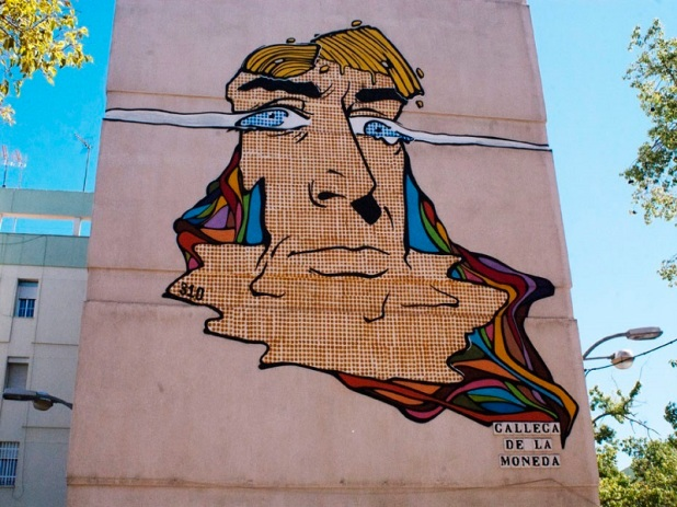 Wall art Seville Spain - Manny Rocca