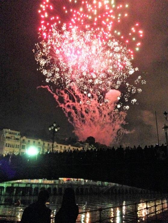 Spain Bilbao Fireworks Festival