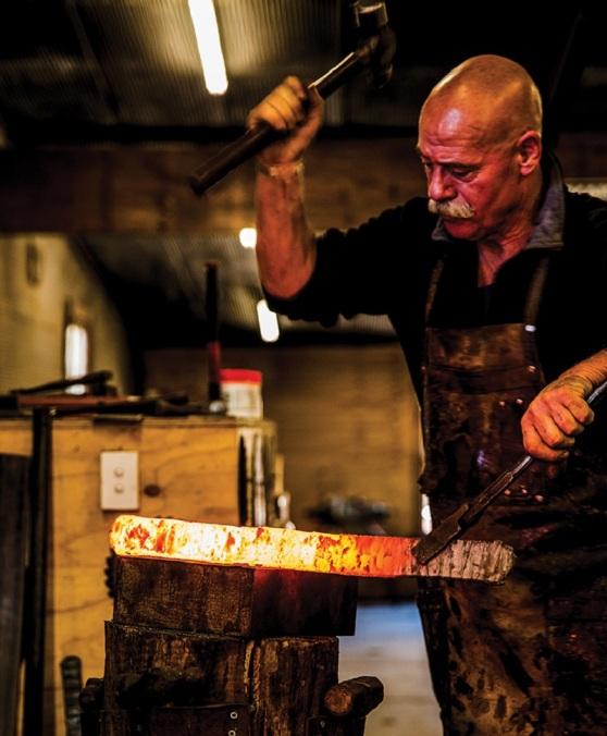 Barry Gardner - knifemaker South Australia