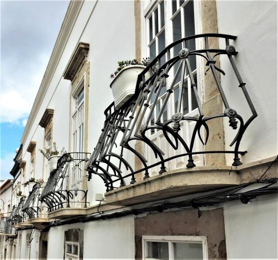 Wrought Iron - decorative balcony