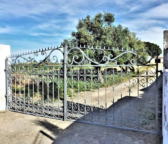 Wrought Iron - farm entrance