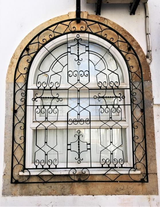 Wrought Iron - decorative window