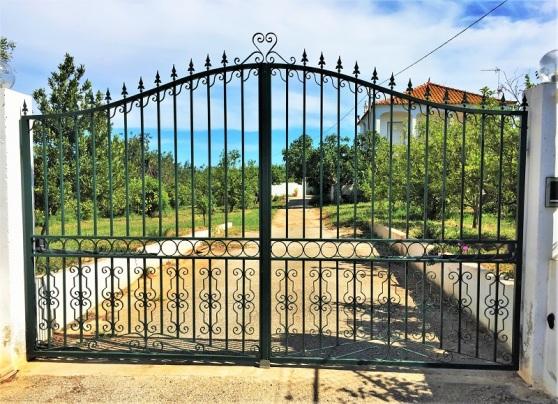 Wrought Iron - farmstead entrance