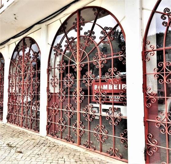 Wrought Iron - fire station Tavira